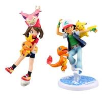 Kawaii Pikachu Action Figure Kids Toys For Children High Quality Birthday Christmas Gifts 12cm