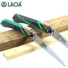LAOA 170mm/210mm Folding Saw SK5 Garden Pruning Hand Saw Portable Outdoor Shear Tools Sharp Saw