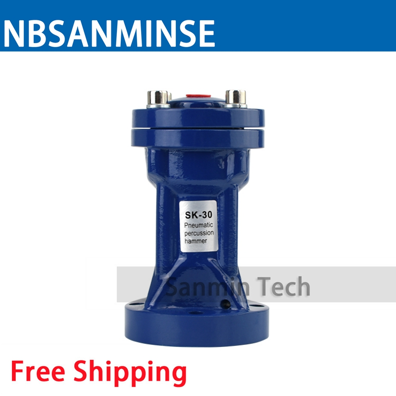 SK 60 Magnetic Impact Pneumatic Air Vibrator Percussion Hammer SK Series Energy Saving Sanmin цена