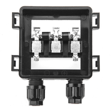 5 Pcs PPO Solar Panel Junction Box 50W 100W Waterproof IP67 For solar panel Wire Connection