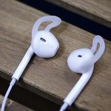 Silicone Cover Earbuds Earphone Case for Apple iphone X 8 7 6 Plus 5 5S SE Earpods Headphone Eartip Ear Wings Hook Cap Earhook
