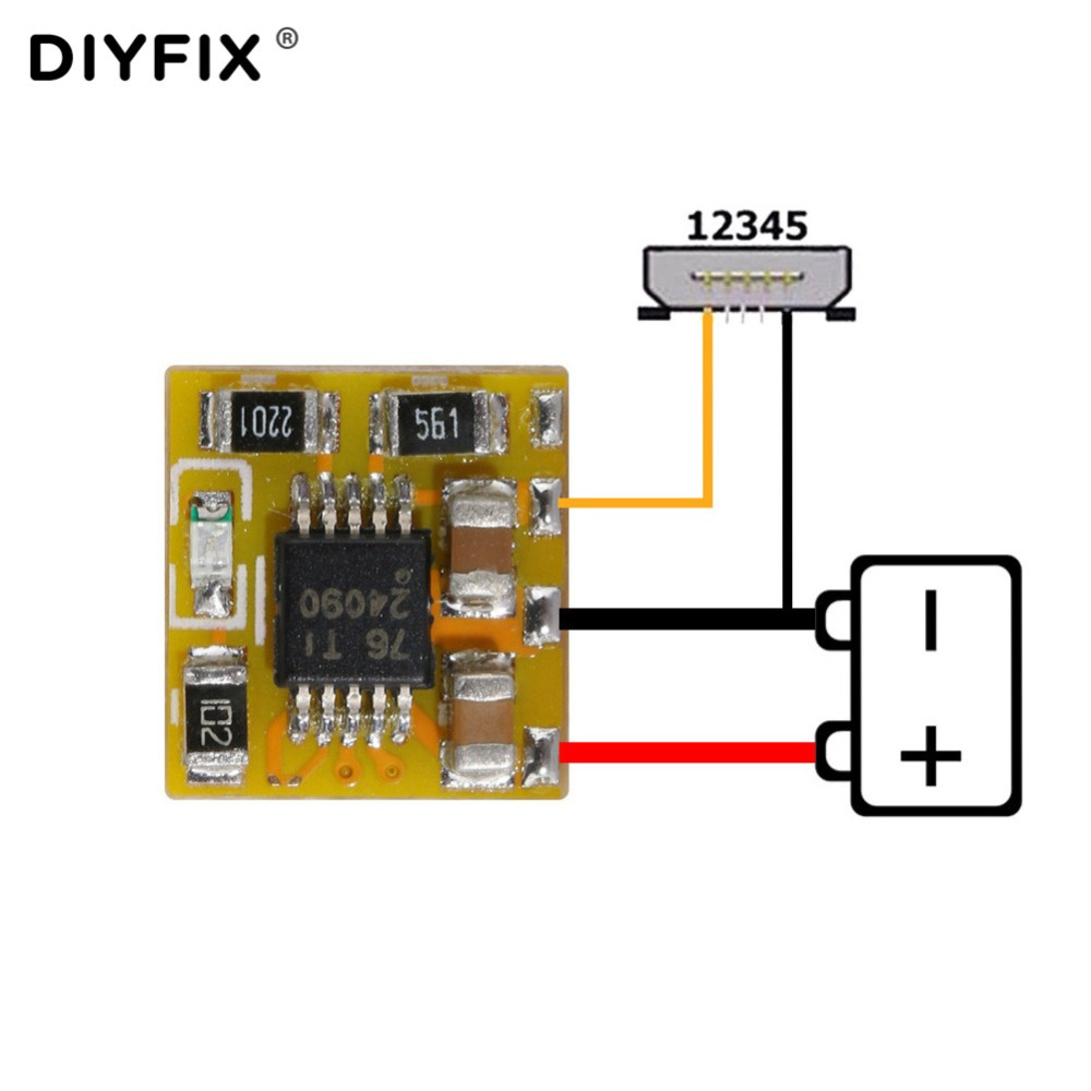 DIYFIX ECC Easy Chip Charge For All Mobile Phones & Tablets PCB&IC Fix All Charger Problem Not Charger Good Working Repair Tool