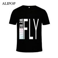 Youpop KPOP Korean Fashion 2016 Got7 FLIGHT LOG Album FLY Cotton Tshirt Clothing K POP T