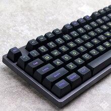 MP Midnight 120 клавиш SA PBT Keycap Fonts Keycap Cherry MX switch keycaps для проводной USB механической игровой клавиатуры