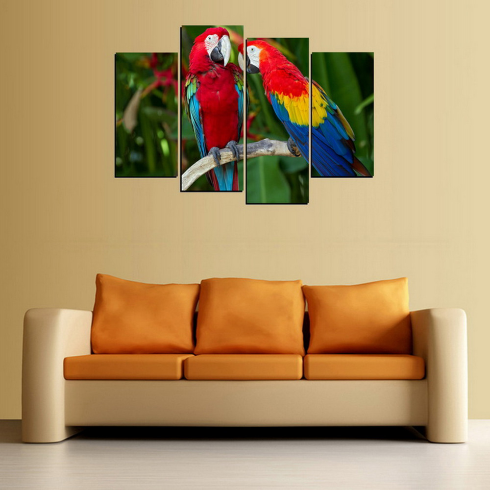 Best Parrot Wall Art Contemporary - The Wall Art Decorations ...