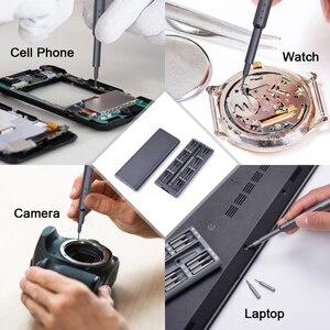 Image 5 - NEWACALOX tamir kiti 1 in 1 çok aracı manyetik tornavida seti hassas alet kiti tamir dizüstü telefon izle alaşım durumda