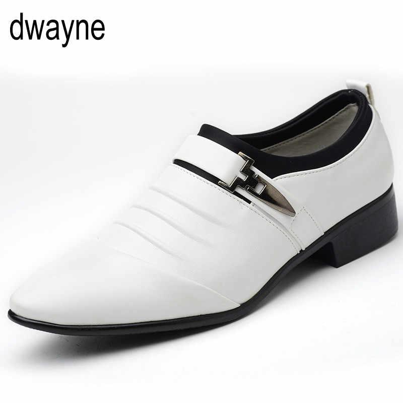 Zapatos oxford elegantes de moda italiana para Hombre Zapatos de gran tamaño para Hombre Zapatos formales de cuero para hombre mocasines de vestir para hombre slip on masculino