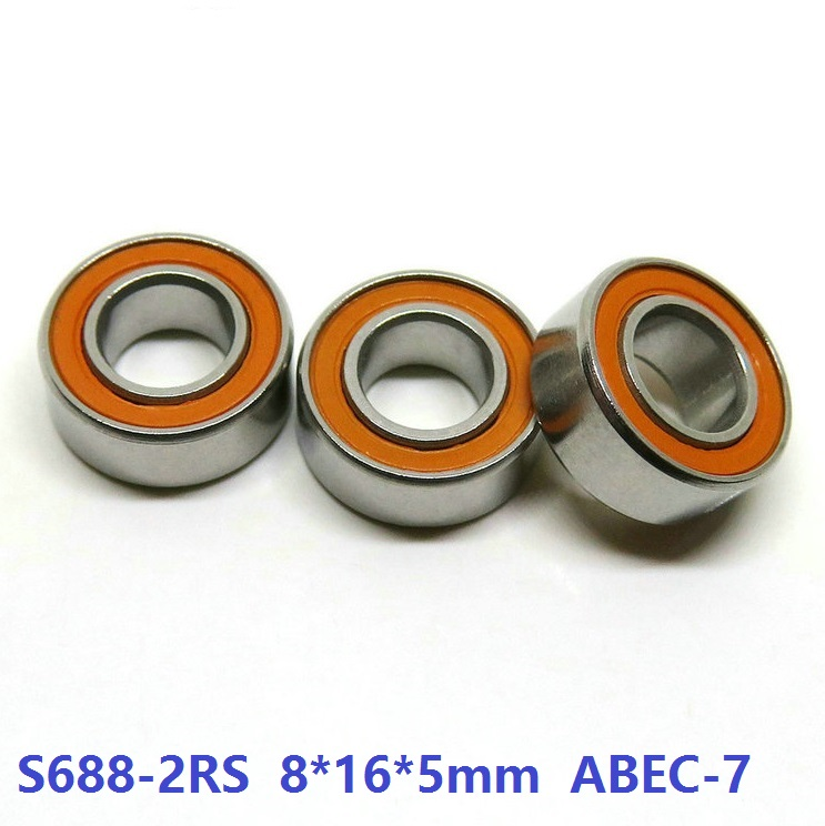 6pcs or 10pcs S688-2RS 8x16x5 mm ABEC-7 Stainless Steel hybrid Si3n4 ceramic bearing 688RS 688 2RS CB LD fishing reel 8*16*5 free shipping dsp 3 axis a11 handle motion controller cnc wireless channel for cnc router engraver dsp handle english version