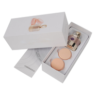 3 In 1 3D Electric Smart Foundation Face Powder Vibrator Puff Sponge Cosmetic Puff Beauty Spa
