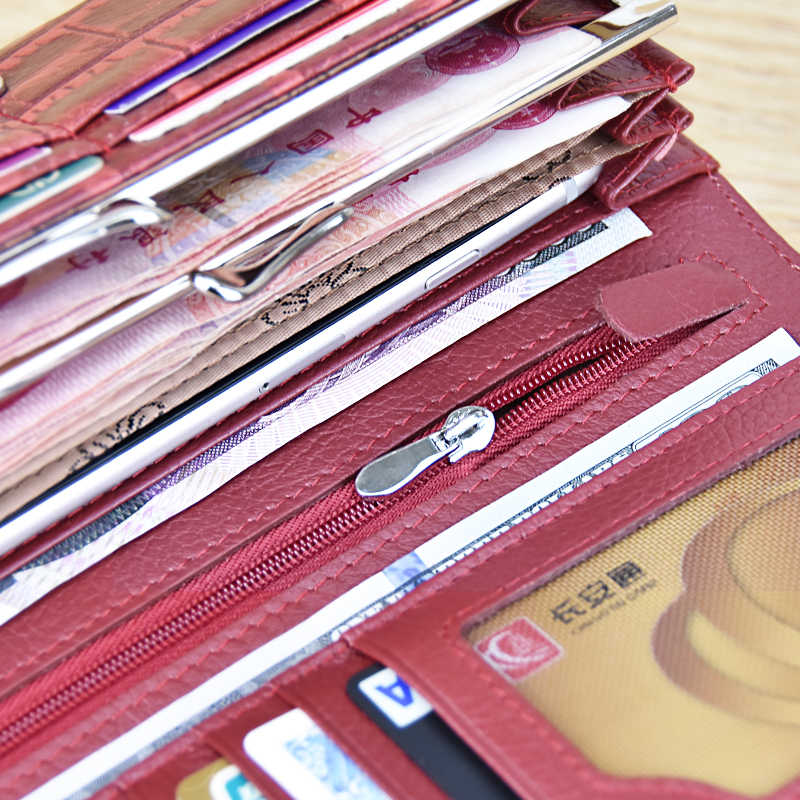 DICIHAYA кожаный кошелек, Женский кошелек Alligatos кошелек держатель для карт винтажная длинная Сумка-клатч Carteira Feminina сумка для денег