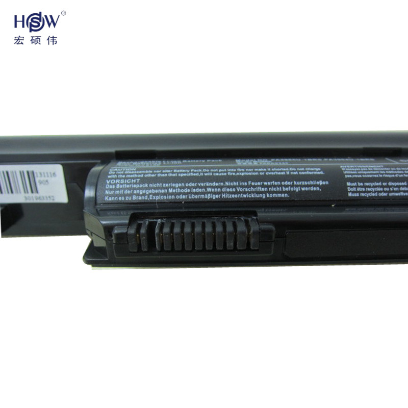HSW laptop battery for Dynabook R751 R752 R752 F FOR Satellite Pro R850 R850 FOR Tecra R850 R950 bateria in Laptop Batteries from Computer Office