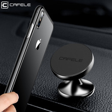 CAFELE Car Phone Holder For Xiaomi 9 8 iPhone X XS Magnetic Air Vent Strong Magnet Stand In GPS Cellphone Support