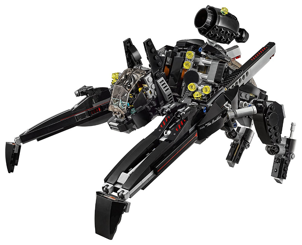 LEPIN Batman Series The Scuttler Building Blocks Bricks Movie Model Kids Toys Marvel Compatible Legoe kazi 608pcs pirates armada flagship building blocks brinquedos caribbean warship sets the black pearl compatible with bricks