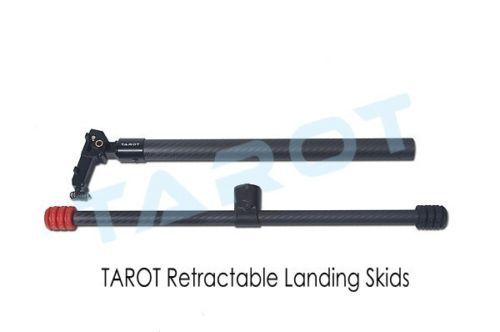 Limited Time-limited Helicopters Landing Tarot 25mm Carbon Electric Retractable Landing Skids Assembly Tl96030