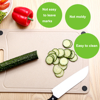 National Patent Kitchen Board Valley Fiber Antibacterial Drilling Board Food Slice Cut Kitchen Cooking Tools