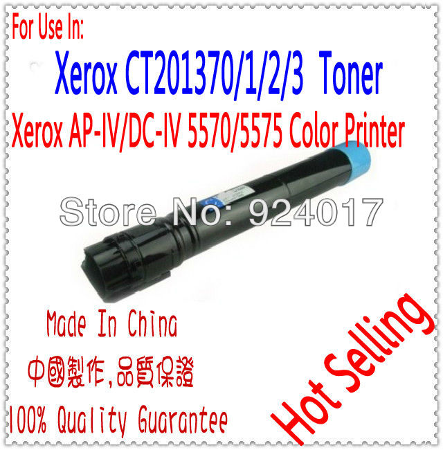 Цветной Тонер Для Fuji Xerox AP-IV 5570/5575 Лазерный Принтер, CT201360/1/2/3 Для Xerox Тонер, используйте Для Xerox DocuCentre-IV 5570 Тонер