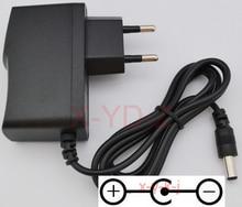 1 قطعة 9 فولت 850mA 1A التيار المتناوب محول التيار الكهربائي الجدار شاحن ل كاسيو LK300tv LK 100 LK 200 AD 5 LK 210 الاتحاد الأوروبي التوصيل