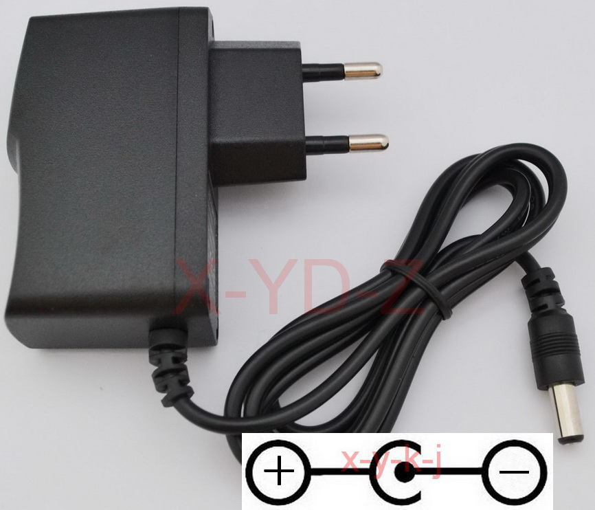 2.5 Meter Long /Omnihil AC//DC Power Adapter 12V 2A Center Negative 2000mA 5.5x2.5 Meter Long // 5.5x2.1mm Regulated//UL Listed//FCC Certified