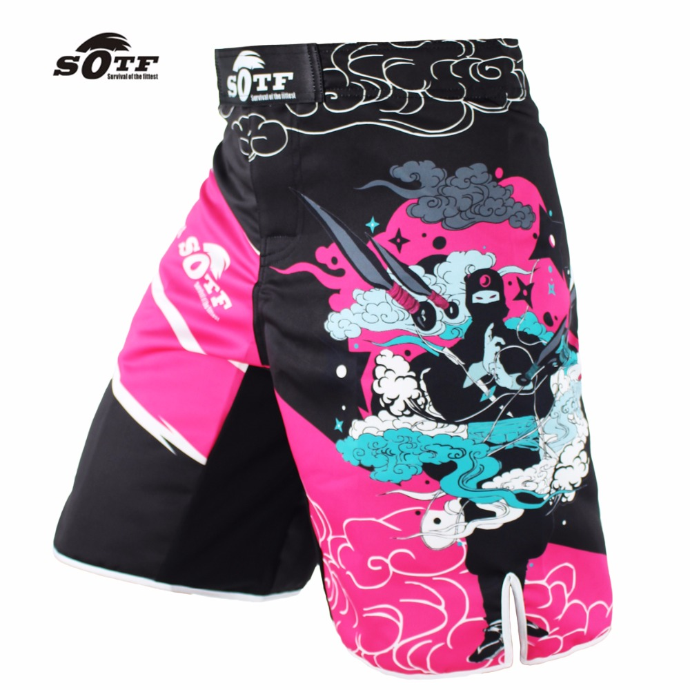 SOTF mma shorts muay thai boxing tiger muay thai brock lesnar pretorian boxe thai kampf tragen kickboxingbrock lesnar shorts mma