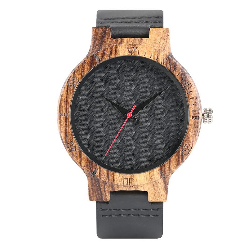 Genuine Leather Band Strap Nature  Bangle Novel Bamboo Hot Trendy Wrist Watch Gift Women Casual Sport New Arrival Top creative wooden bamboo wrist watch genuine leather band strap nature wood men women quartz casual sport bangle new arrival gift