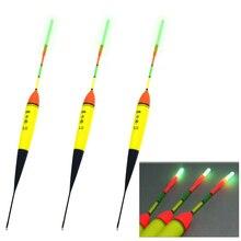 THKFISH 3 Pcs EVA Foam Fishing Float Bobbers 8g 11g 15g 19g 23g+10pcs Glow Sticks Night Fishing Floats