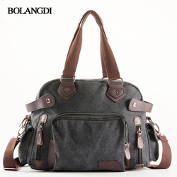 2017 bolangdi leather travel duffel bags for men thick canvas tote causal duffle bag multifunctional travel.jpg 250x250