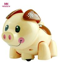 MUQGEW Electric Music 3D Lighting Universal Pig Children Kid Toys Brinquedos Baby Toys Jouet Enfant Educational