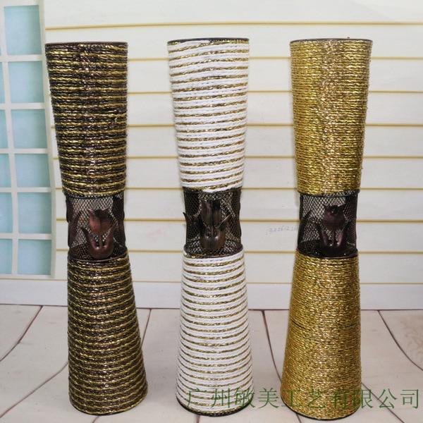 Rattan Floor Vase Vases