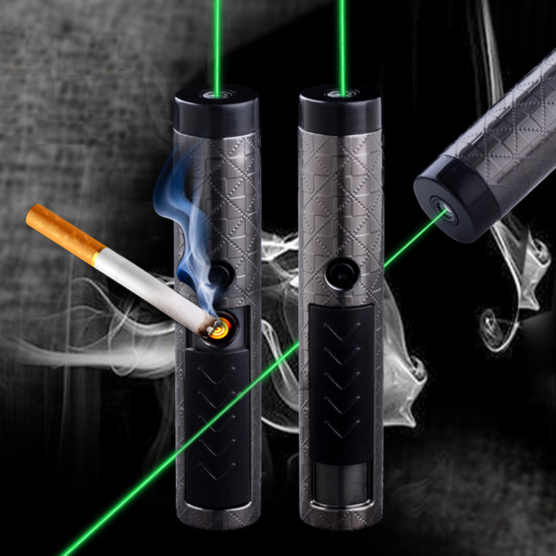 USB Charger Green Laser Powerful Hunting Lasers Pointer windproof bore sighter