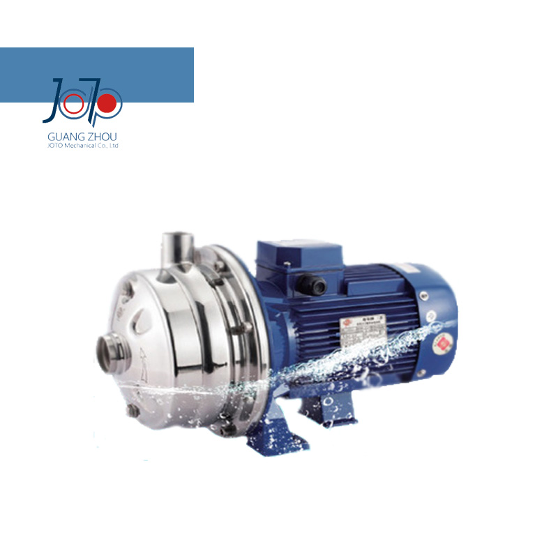 WB2-70/185D 220V 50Hz Single New Arrival Phase Low Pressure Stainless Steel Double Impeller Sanitary Centrifugal Pump Food Pump 1 2hp 220v 50hz single phase small stainless steel centrifugal water pump sanitary pump beverage pump dishwasher pump