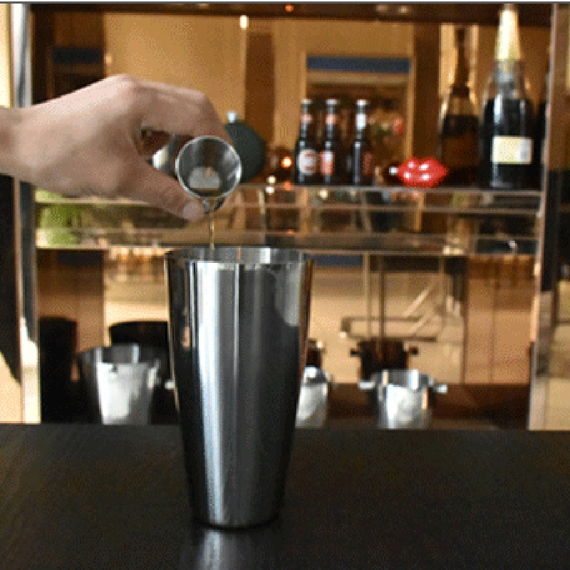 Home Bars For The Casual Drinkers: Stainless Steel Cocktail Shaker Mixer Boston Shaker Drink