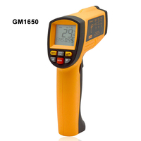 100% BRAND NEW! Digital handheld gun non contact infrared thermometer laser Pyrometer professional industrial temperature gun ir