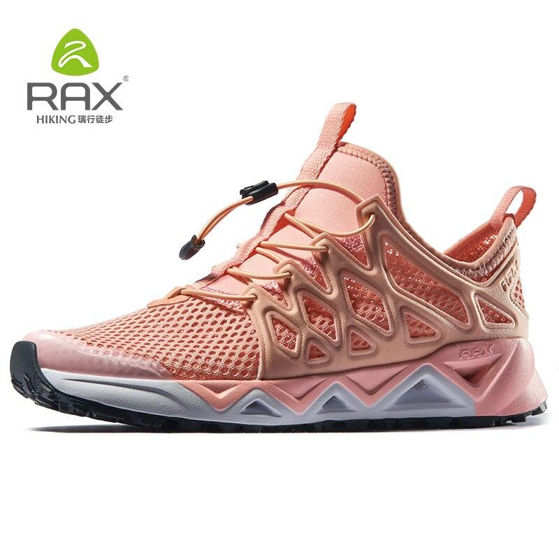 RAX Women Trekking Shoes Women Aqua Shoes Breathable Sports Sneakers Trekking Quick drying Water Shoes Women Hiking Shoes Women