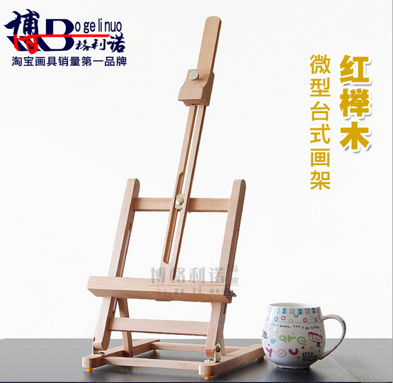 1pc 40cm Mini Artist wooden table Folding Painting Easel Frame Adjustable Tripod Display Shelf Outdoors Studio Display Frame 40cm mini artist wooden table folding painting easel frame adjustable tripod display shelf outdoors studio display frame act012