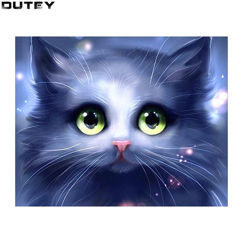 Diamond painting 5D-DIY-Diamond-embroidery-cute-little-cat-diamond-painting-Cross-Stitch-Rhinestone-mosaic-decoration-gif