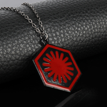 First Order Red Pendant Necklace