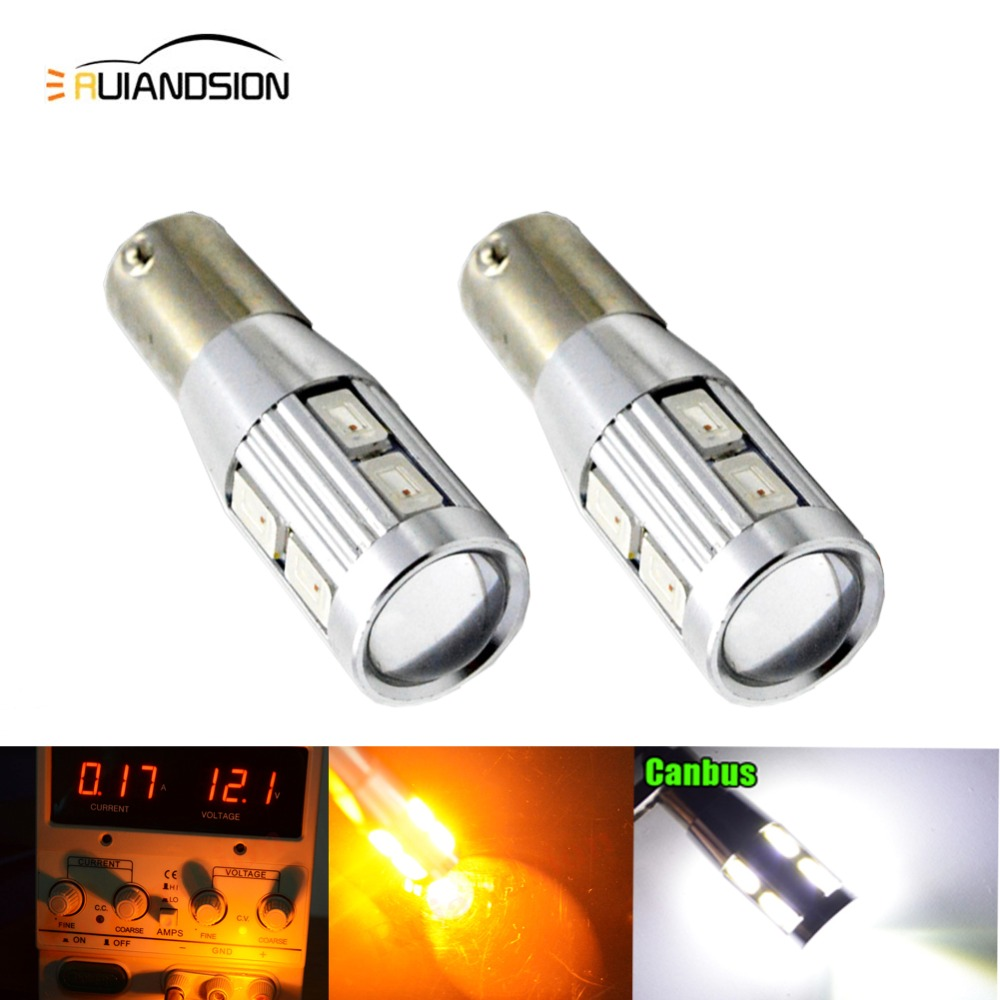 2x T20 CREE 70W White LED BA15S 1156 P21W Bayonet Signal Indicator Reverse Light