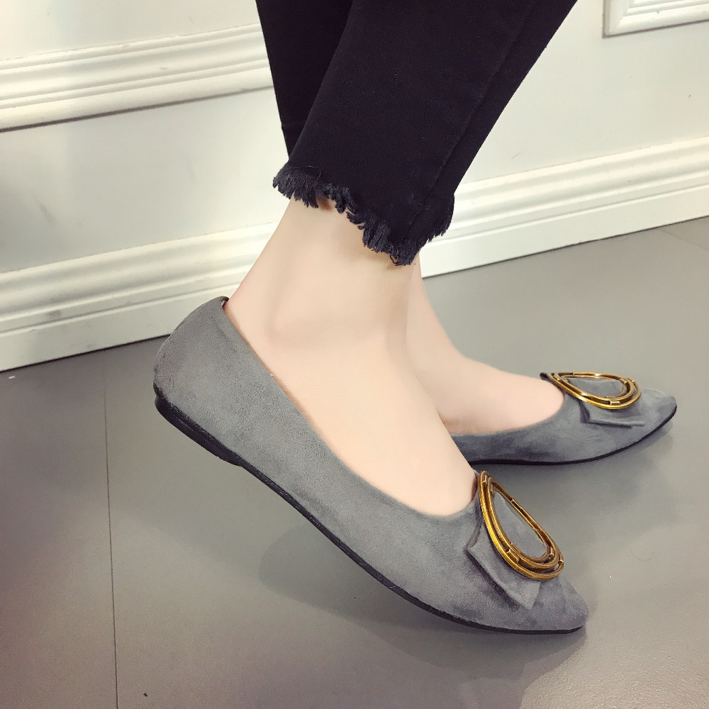 Loafers Women Flats Shoes Round Hoop Slip on Ladies Spring Fashion Leather Casual Shoes Female Leisure Women Summer Shoes women shoes 2016 high fashion shoes men spring summer women s flats casual shoes pu leather 2016