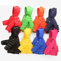 Winter Boy Girl Kids Clothes Outerwear Coats Down Parkas Children Clothing Jacket Veste Enfant Fille Brand
