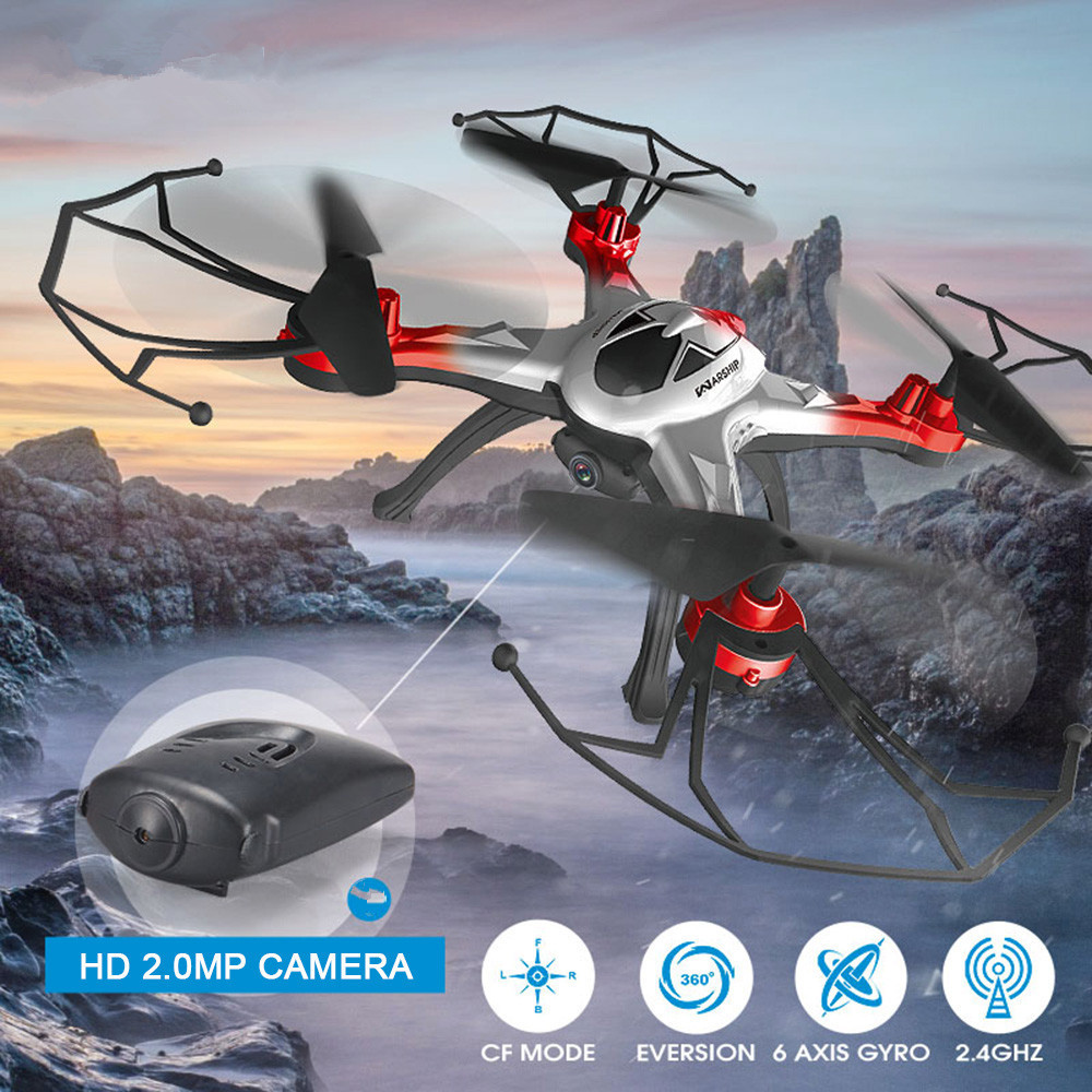 JJRC H29 Professional Drones With Camera 2.4G 4CH 6 axis Dron Quadcopter One-Key Course Reversal RC Helicopter With Gyro