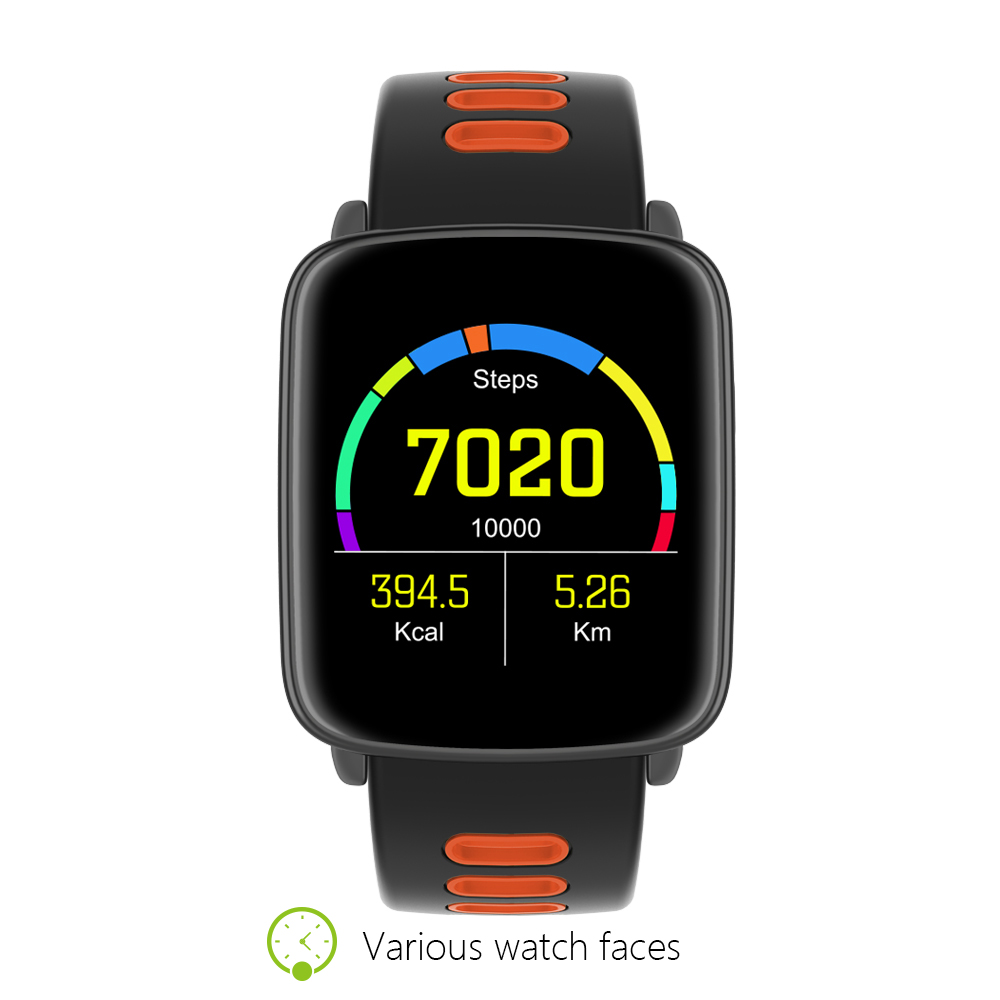 Gv68 bluetooth smart watch mtk2502 smartwatch podómetro recordatorio sedentario