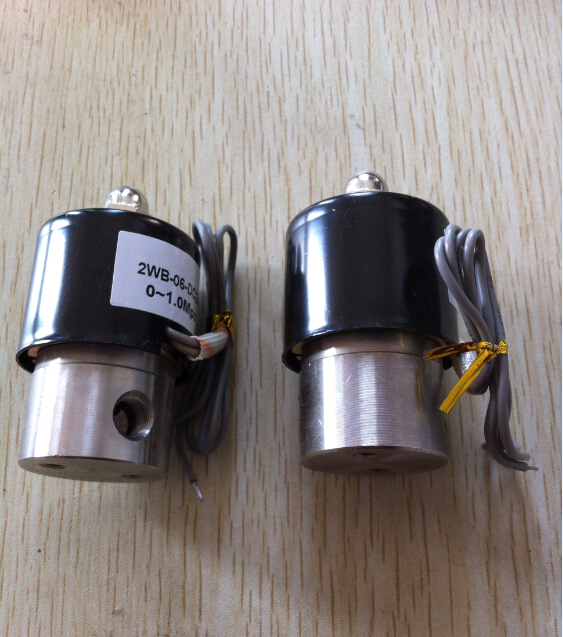 1/8 Stainless Steel Electric solenoid valve 12VDC Normally Closed 3924450 2001es 12 fuel shutdown solenoid valve for cummins hitachi