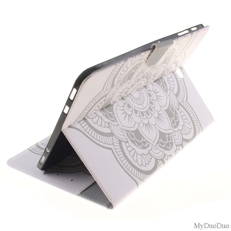 Flower 2 Sides Style PU Leather Tablets Case For Samsung Galaxy Tab S2 9.7