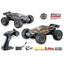 Coche teledirigido eléctrico de alta velocidad para niños, vehículo teledirigido 1/16 4WD 4x4 2,4 GHz, tracción a las 4 ruedas, modelo Bigfoot