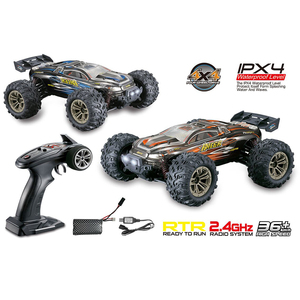 Electric RC Car 1/16 4WD 4x4 2.4GHz Driving Car Drive Bigfoot Car Remote Control Car Model High-Speed Off-Road Vehicle Kids Toys