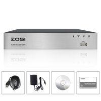 ZOSI 8 Channel TVI 4 IN 1 DVR 720P Security CCTV DVR 8CH Mini Hybrid HDMI