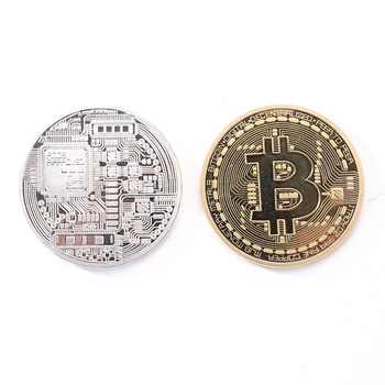 bitcoin Bronze Physical Bitcoins Casascius Bit Coin BTC  Home Decoration Crafts Non-currency Coins Gift Favor E5M1