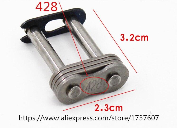 1pcs  Motorcycle Chain  / 428 530  420 630  Oil Seal Chain Plierchain Lock  Buckle