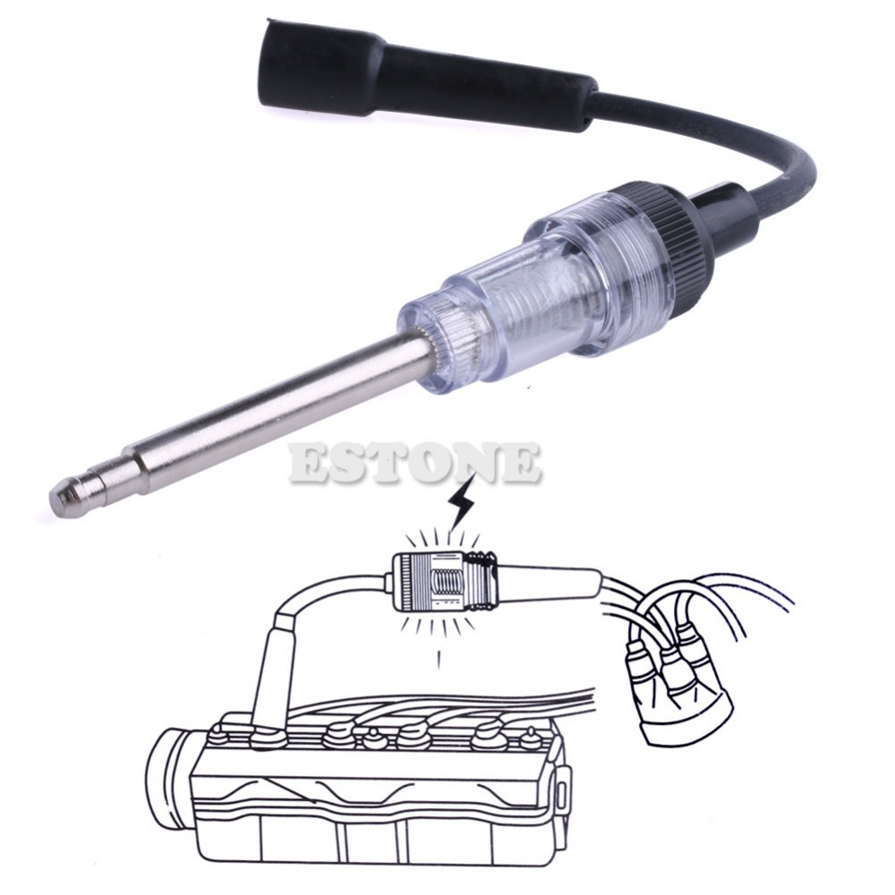 Spark Plug Tester Auto Diagnostic Test Tool Ignition System Coil Engine In Line