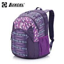 Luxcel женщины Рюкзак Для Студента Подросток мешок Школы Повседневная Daypacks рюкзак путешествия